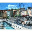 Painting Cassis oil