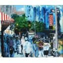 Painting N.Y. oil